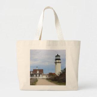 Cape Cod Light Large Tote Bag