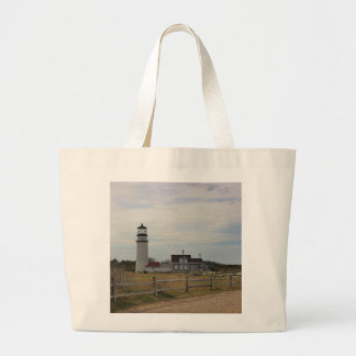 Cape Cod Light Large Tote Bag