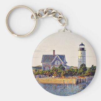Cape Cod Lighthouse Gift Key Ring
