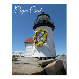 Cape Cod  Lighthouse, Nantucket, Mass Postcard