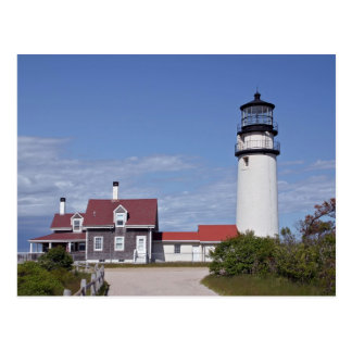 Cape Cod Lighthouse Postcard