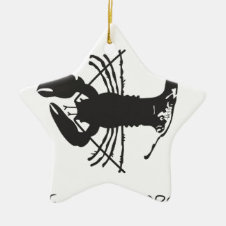 CAPE COD LOBSTER CHRISTMAS ORNAMENT