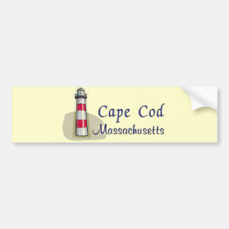 Cape Cod Massachusetts Bumper Sticker