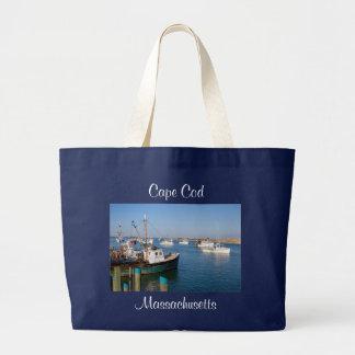 Cape Cod Massachusetts Chatham Harbor Tote Bag