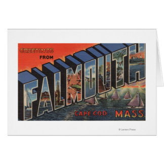 Cape Cod, Massachusetts (Falmouth) Greeting Card