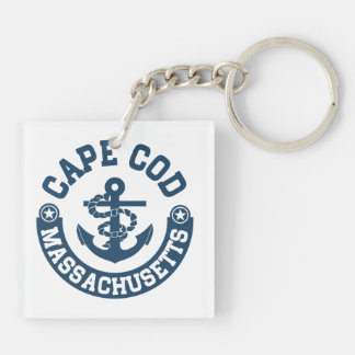 Cape Cod Massachusetts Key Ring