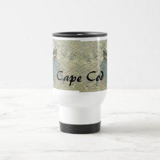 Cape Cod Massachusetts - Shell & Surf Travel Mug