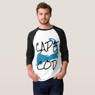 Cape Cod Massachusetts shirt, ringer style T-Shirt