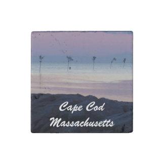 Cape Cod Massachusetts Stone Magnet