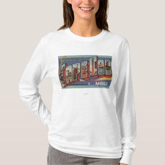 Cape Cod, MassachusettsLarge Letter Scenes T-Shirt