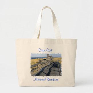 Cape Cod National Seashore Jumbo Canvas Tote Bag