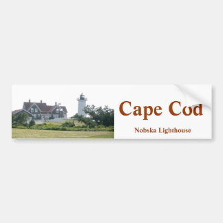 Cape Cod Nobska Lighthouse Bumper Sticker