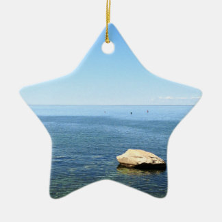 Cape Cod Ocean Christmas Ornament