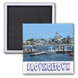 Cape Cod, Provincetown Massachusetts, MA Square Magnet