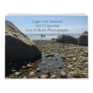 Cape Cod Seasons Photo Calendar 2017
