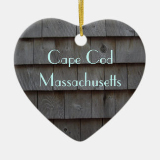 Cape Cod Shingles Reversible Customized Christmas Ornament