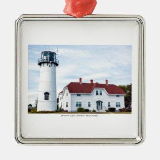 Cape Cod. Silver-Colored Square Decoration