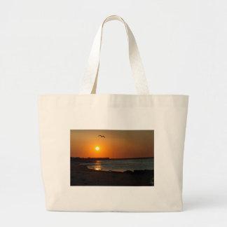 Cape Cod Sunrise Canvas Bag