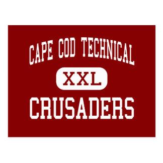 Cape Cod Technical - Crusaders - High - Harwich Postcard