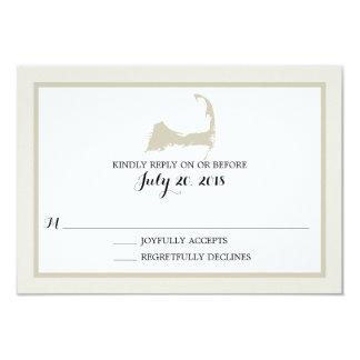 Cape Cod | Wedding RSVP Card