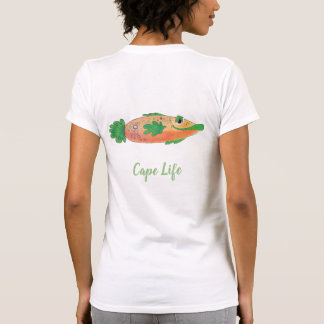 Cape Coral Florida Cape Life Fish Tee
