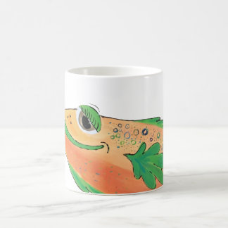 Cape Coral Florida Whimsical Fish Artwork Coffee Mug