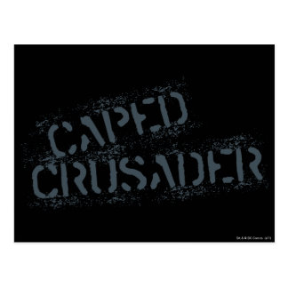 Cape Crusader Paint Postcard
