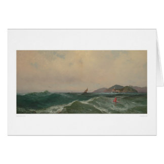 Cape Disappointment (1248) Greeting Card