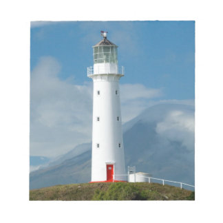 Cape Egmont Lighthouse and Mt Taranaki/Mt Notepads