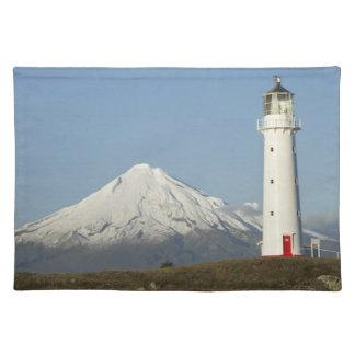 Cape Egmont Lighthouse and Mt Taranaki / Mt Placemat