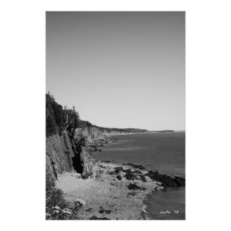 Cape Enrage Coastline Posters