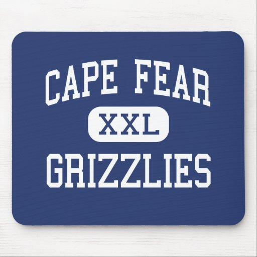 Cape Fear Grizzlies Middle Rocky Point Mouse Pad