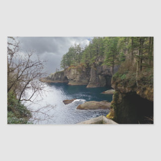 Cape Flattery Olympic National Park Rectangular Sticker