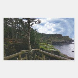Cape Flattery Olympic Peninsula - Washington Rectangular Sticker