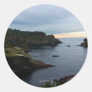 Cape Flattery Olympic Peninsula - Washington Round Sticker