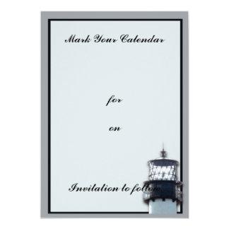 Cape Florida Lighthouse 13 Cm X 18 Cm Invitation Card