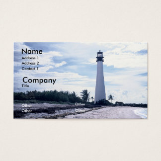Cape Florida Lighthouse Business Card
