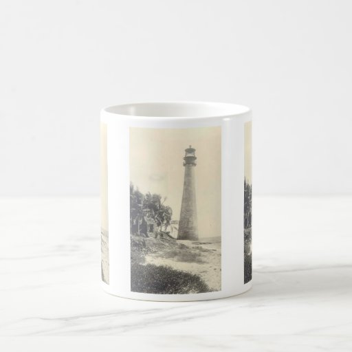 Cape Florida Lighthouse Classic White Coffee Mug
