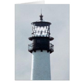 Cape Florida Lighthouse Greeting Card