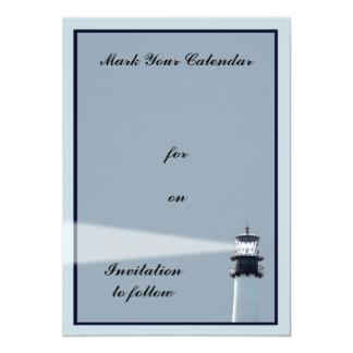 Cape Florida Lighthouse 5x7 Paper Invitation Card