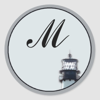 Cape Florida Lighthouse Classic Round Sticker