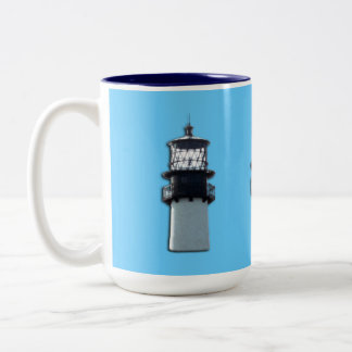 Cape Florida Lighthouse Two-Tone Mug