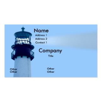 Cape Florida Lightwouse Business Cards