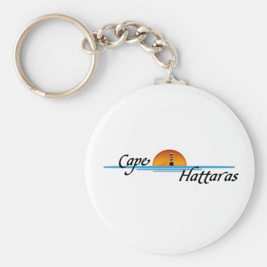 Cape Hattaras Basic Round Button Key Ring