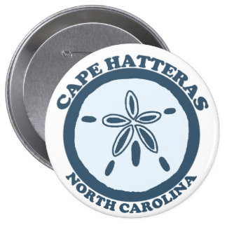 Cape Hatteras. 10 Cm Round Badge