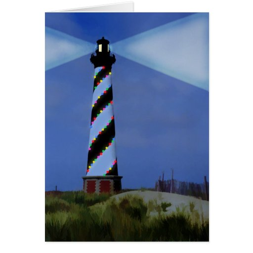 Cape Hatteras Holiday Lights Card