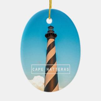 Cape Hatteras Light. Christmas Tree Ornaments