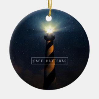 Cape Hatteras Light. Christmas Tree Ornament
