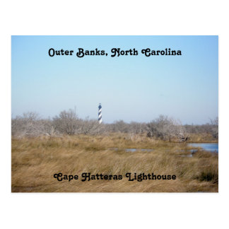 Cape Hatteras Lighthouse #1 OBX Postcard