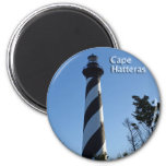 Cape Hatteras Lighthouse 6 Cm Round Magnet